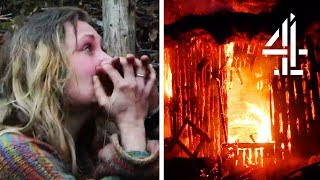 A House Burns Down & Everyone Finally Leaves Eden | Eden: Paradise Lost