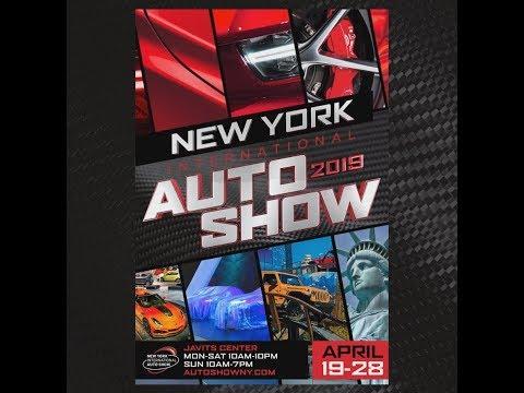 معرض نيويورك للسيارات يستعد لفتح أبوابه للحضور