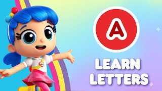 A - Learn Letters with True | True and the Rainbow Kingdom | Alphabet Learning
