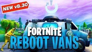 Reboot Vans Confirmed! - NEW Fortnite Respawn Vans v8.30 Patch Notes!