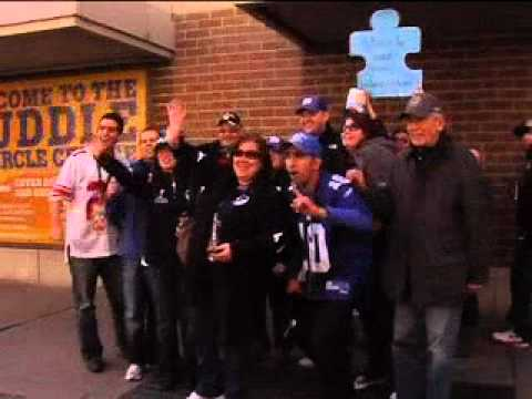 FANS SHOW LOVE TO THE CITY OF INDIANAPOLIS FOR SUPER BOWL XLVI