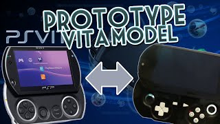 Old PROTOTYPE PlayStation Vita MODEL! | PSP Go Styled PS Vita?!