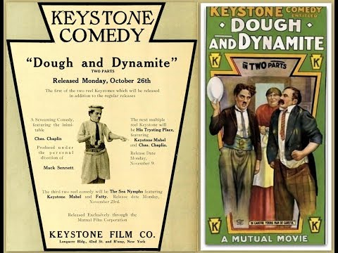 Dough and Dynamite 1914 The story involves Chaplin and Chester Conklin working as waiters