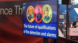 The Future of Qualifications of Fire Detection and Alarms | Fire alarm training | FIREX 2018