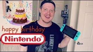 HAPPY BIRTHDAY NINTENDO!
