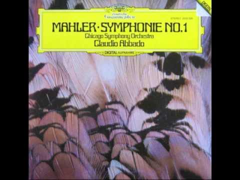 """Mahler: Symphony No. 1 """"Titan"""" - Claudio Abbado - Chicago Symphony Orchestra"""