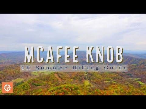 Most Photographed Place On The Appalachian Trail: McAfee Knob Hiking Guide 4K
