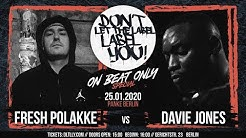 Davie Jones vs Fresh Polakke // DLTLLY OnBeatBattle (Berlin) // 2020