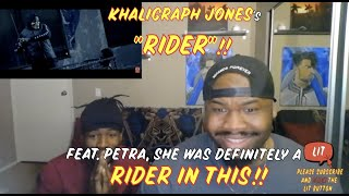 KHALIGRAPH JONES Ft PETRA, RIDER (OFFICIAL VIDEO) (Thatfire Reaction)