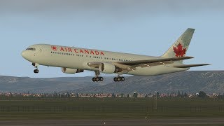 Air Canada 767 Emergency Landing At Madrid | X-Plane 11