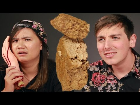 "Download Youtube: People Try The ""Human Flesh"" Patty"