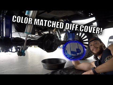 AWESOME CUSTOM DIFF COVER!