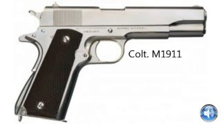 Colt M 1911 Pistol Sound Effects One Shot !I! Pistol Sound Effects Free Download