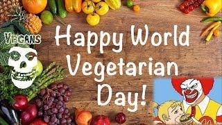 1 октября - Всемирный День Вегетарианства