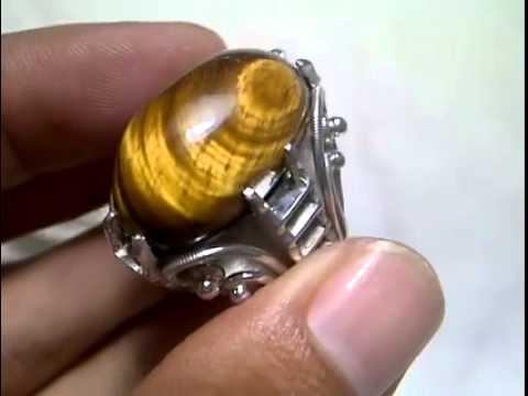 Antique Tiger Eye Ring-1180