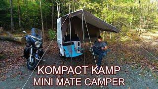 The 2020 Mini Mate Motorcycle Camper by Kompact Kamp Trailers