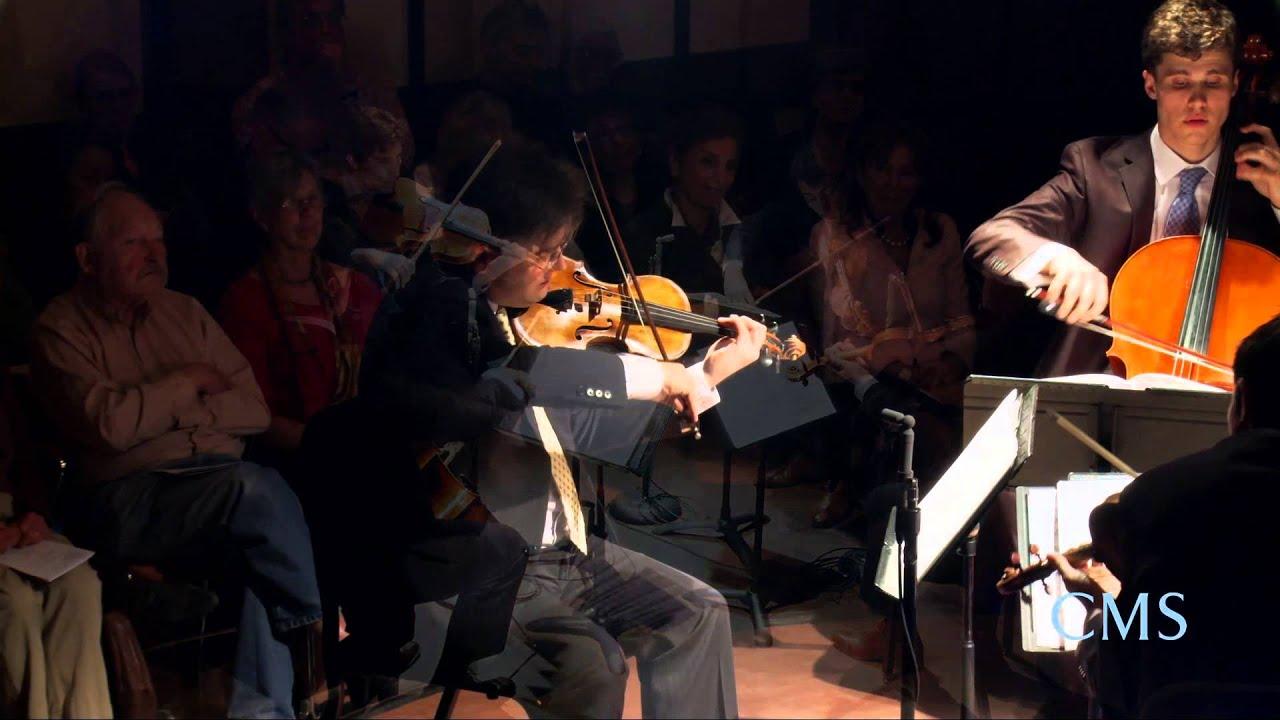 Britten: String Quartet No. 1 in D major, Op. 25, II. Allegretto con slancio