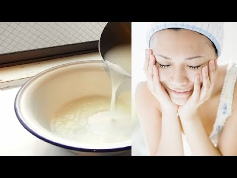 4 bước rửa mặt bằng nước vo gạo giúp da trắng sáng bất ngờ