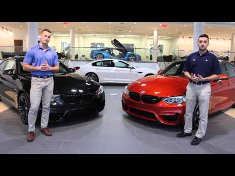 2016 BMW M4 vs M3 - The choice is yours