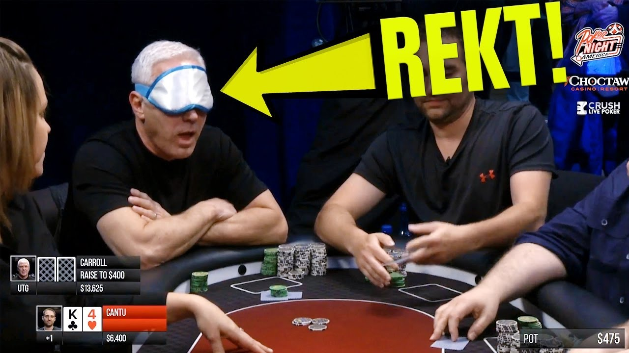 Angle Shooter Gets OWNED | Hilarious Poker Hand