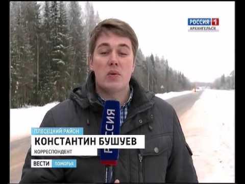 В Плесецком районе торжественно открыли новый участок дороги Брин-Наволок - Плесецк