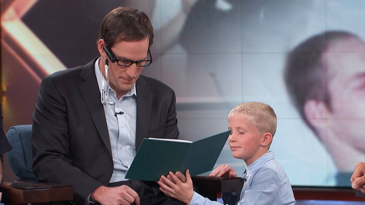 Featured On Dr  Phil, Blind Veteran Uses OrCam MyEye To Read