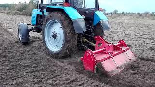 Новая почва фреза для трактора мтз 82.1 по цилене