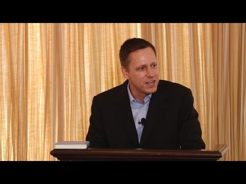Peter A. Thiel | Always Aim for a Monopoly