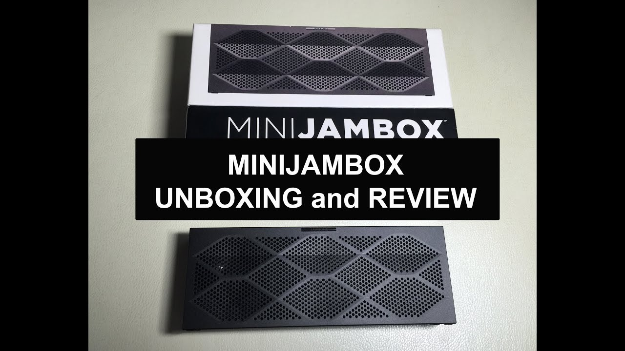 mini jambox unboxing and review youtube rh youtube com Microsoft Quick Guide Quick Installation Guide