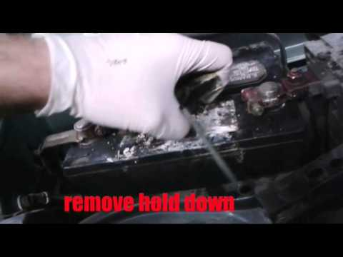 2001 2004 Rav 4 Battery Replacement