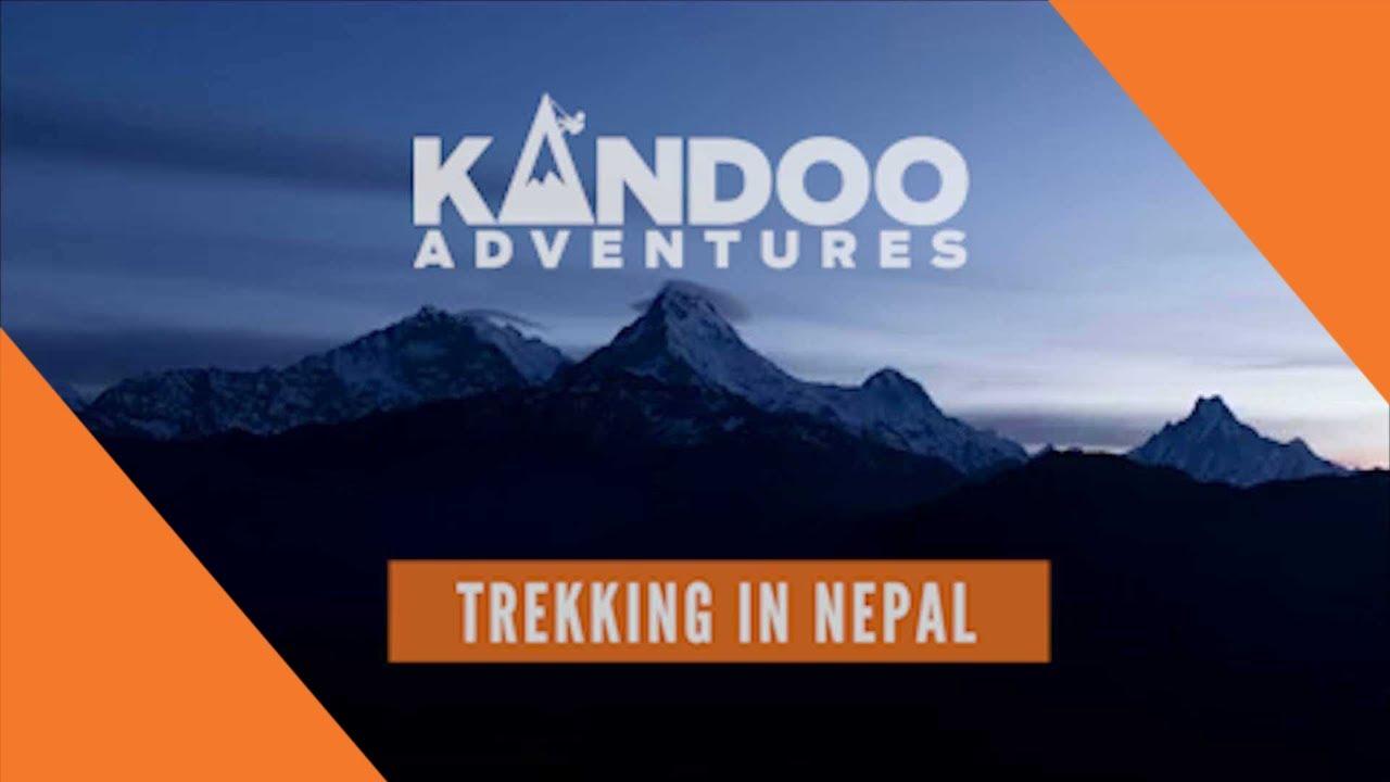 Trekking in Nepal with Kandoo Adventures