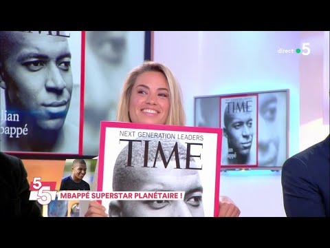 Mbappé superstar planétaire ! - C à Vous - 11/10/2018