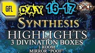 Path of Exile 3.6: SYNTHESIS DAY # 16-17 Highlights ZIZARAN RANK 2 RIP, MIRROR ITEM *POOF*
