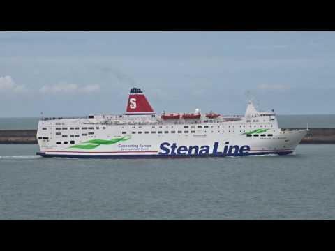 Stena Fishguard Wales To Rosslare Ireland Passenger Ferry 2 17.4.17265