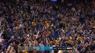 3rd Quarter, One Box Video: Golden State Warriors vs. San Antonio Spurs