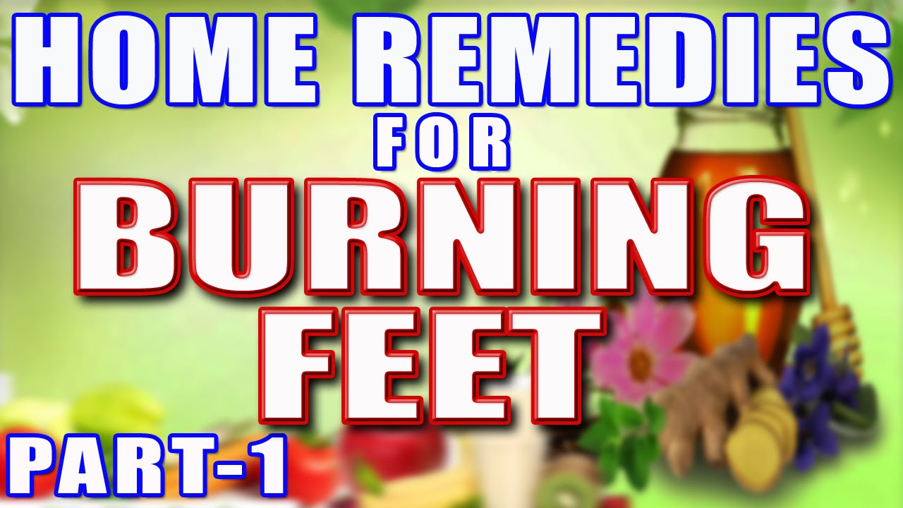 Home Remedies For Burning Feet At Night