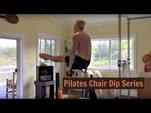 Pilates Chair Dip Series for Better Fitness Over 50