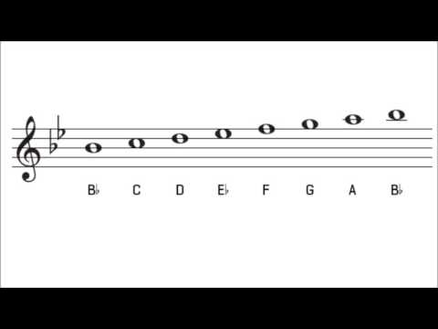 B Flat Major Scale and Key Signature   The Key of Bb Major