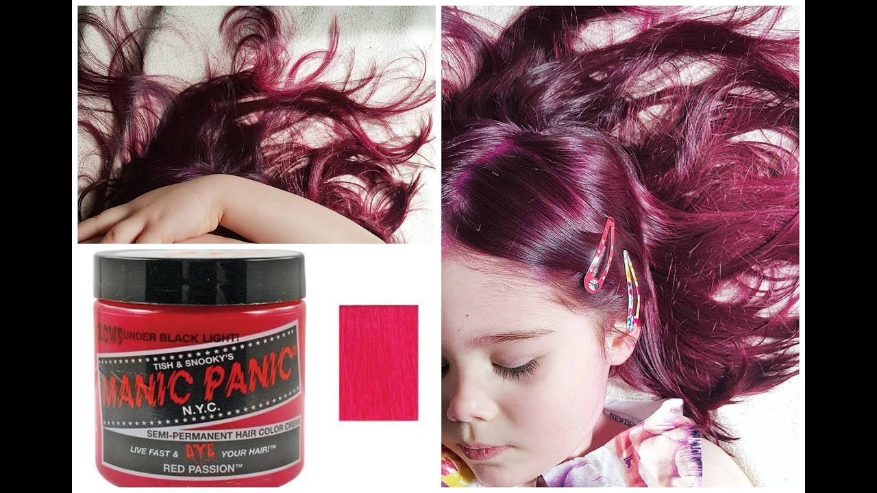 Epic Mom Dying Her Kids Hair Dreads Red Manic Panic Youtube