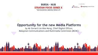 Opportunity for the new media platforms