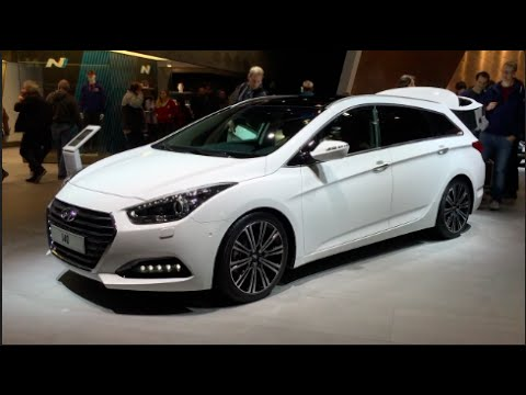 Hyundai i40 2016 In detail review walkaround Interior Exterior
