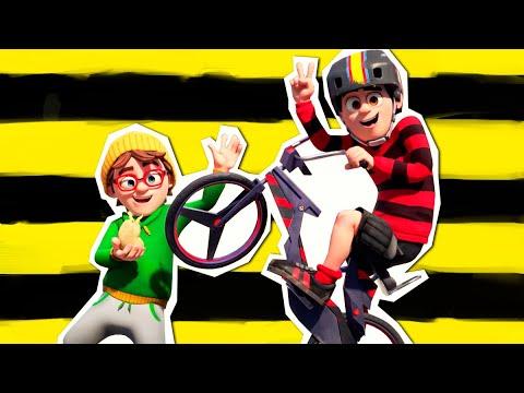 Деннис и Нэшер уходят в отрыв - BMX - Мультфильмы для подростков