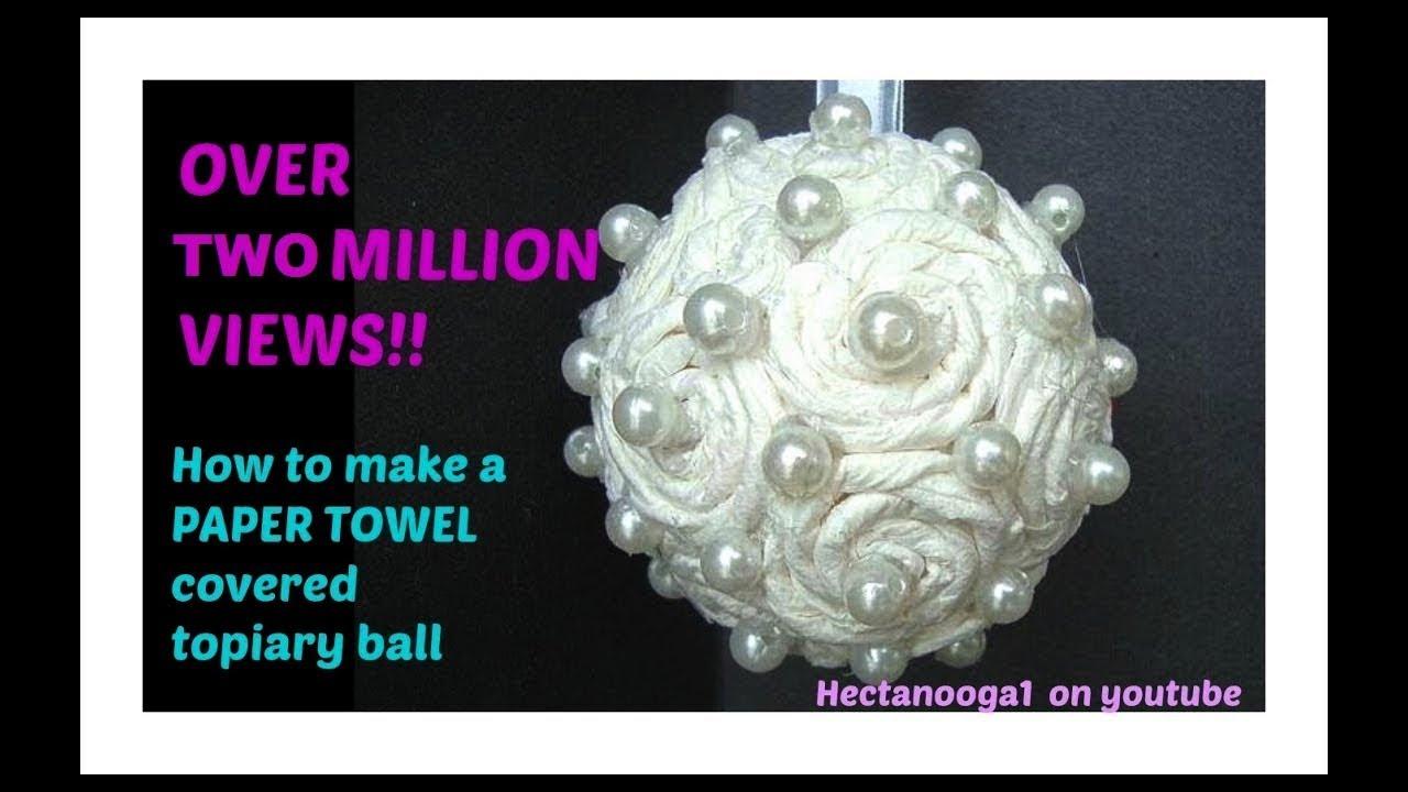Paper Towel Flower Ukrandiffusion