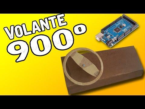 Tutorial De Como Fazer Volante Joystick De 900º! - (C/Arduino)