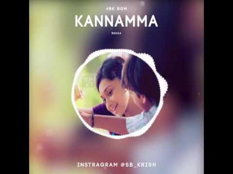 Rekka #Kannamma song #bk bgm #ja #love