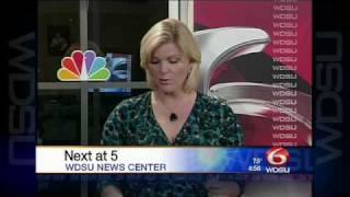 WDSU News at 4pm 2010 Close