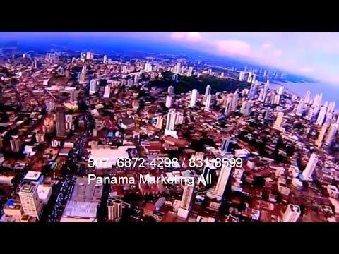 Panama City Panama Marketing All Aerial Shots