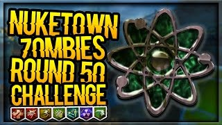 BURIED & NUKETOWN ZOMBIES ROUND 50 CHALLENGE!!! | INTERACTIVE STREAMER (Black Ops 2 Zombies)