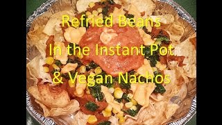 """How To Make """"refried Beans"""" In The Instant Pot (vegan / Gluten Free)"""