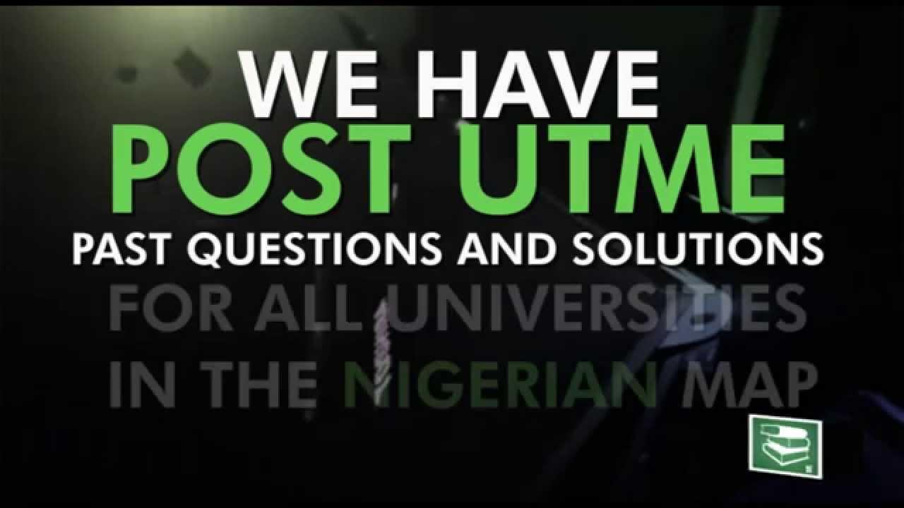 Aaua Post Utme Past Question Pdf